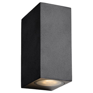Santario Aluminium Up & Down Outdoor Wall Light
