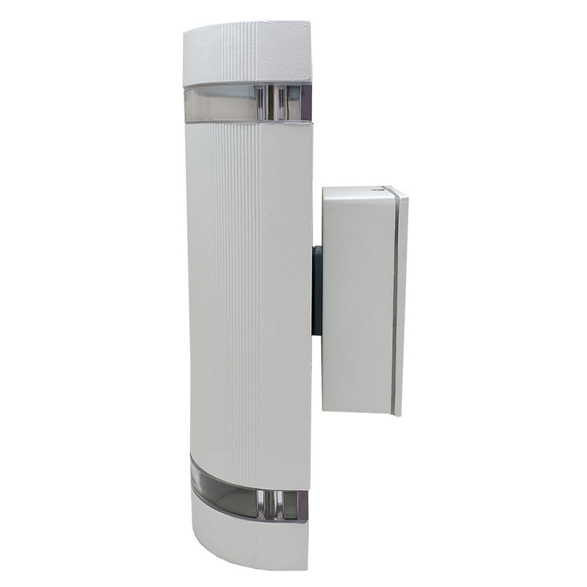 Costola Aluminium Up & Down Outdoor Wall Light