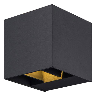 Cubo LED Aluminium Adjustable Up & Down Outdoor Wall Light