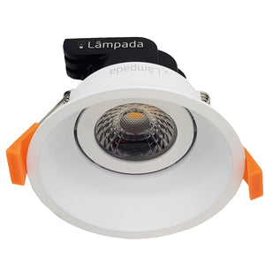 9W Premium COB Dimmable LED Slimline Gimble Downlight