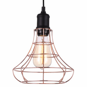 Lampada Allegato Copper Pendant Light