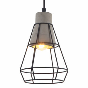 Lampada Aquila Concrete Pendant Light