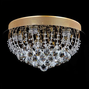 Lampada Accuto Gold 5 Light Premium Crystal CTC LD10114GD