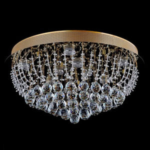 Lampada Accuto Gold 8 Light Premium Crystal CTC LD10115GD