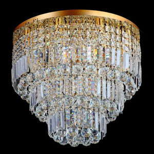 Lampada Bellezia Gold 13 Light Premium Crystal CTC LD10119GD