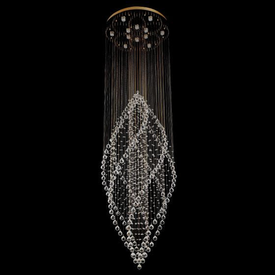Lampada Borzolo Gold 12 Light Premium Crystal Pendant LD10100GD