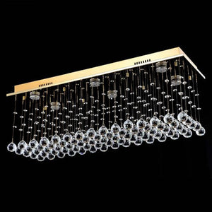 Lampada Scatola Gold 6 Light Premium Crystal CTC LD10113GD