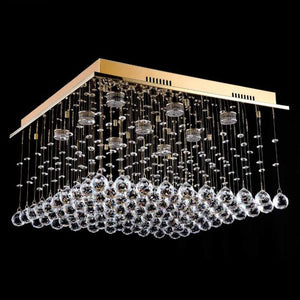 Lampada Scatola Gold 9 Light Premium Crystal CTC LD10112GD