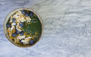 Kale Forest Smoothie Bowl