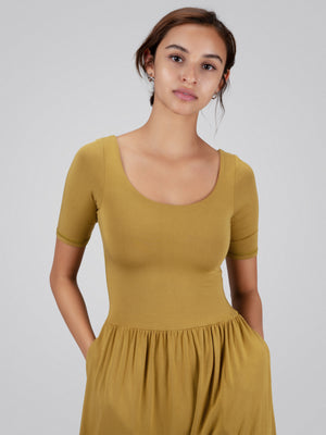 Sleeved Bōdhi Jumper, Chartreuse