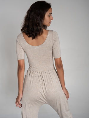 Sleeved Bōdhi Jumper, Oatmeal