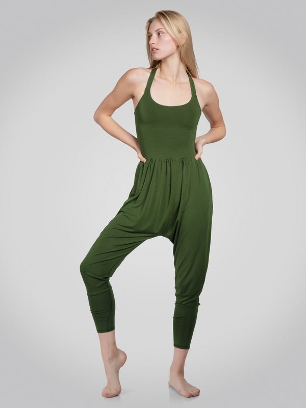 Bōdhi Jumper, Chive Green