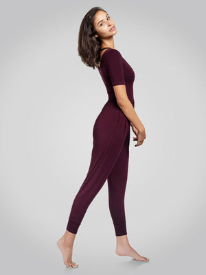 Sleeved Bōdhi Jumper, Burgundy