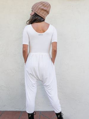 Sleeved Bōdhi Jumper, Nova White
