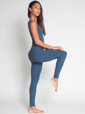 Tara Bodysuit, Royal Blue - IMBŌDHI Bodysuits