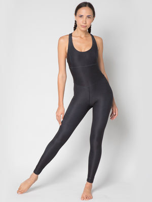 The Astra Bodysuit, Castor Black - IMBŌDHI Bodysuits