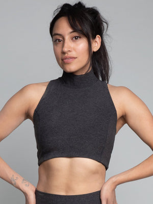Cari Crop Top, Midweight Fabric