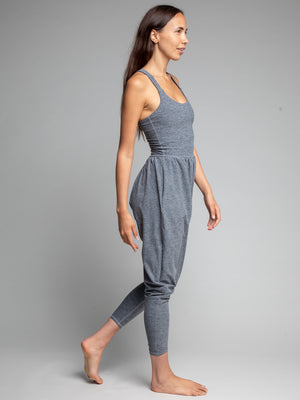 Bōdhi Jumper, Heather Grey - IMBŌDHI Bodysuits