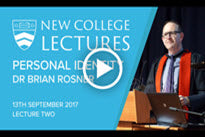 2017 New College Lectures - Lecture Two