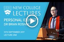 2017 New College Lectures - Lecture One