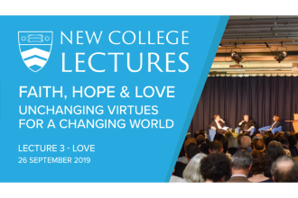 2019 New College Lectures - Lecture Three: Love