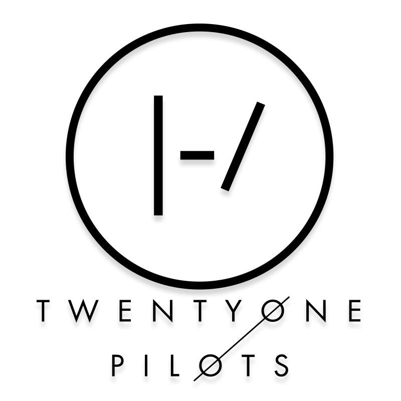 Twenty One Pilots Band Logo Decal Sticker