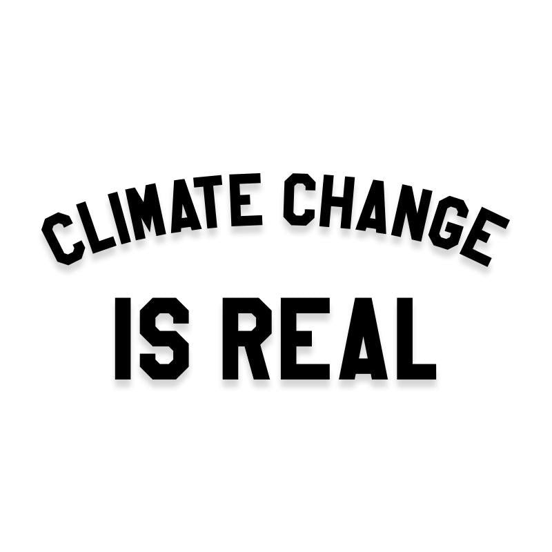 Climate Change is Real Decal Sticker