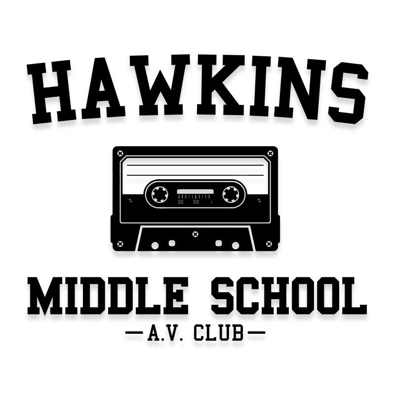Hawkins Middle School Stranger Things Decal Sticker