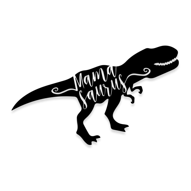 Mamasaurus Dinosaur Mom Decal Sticker