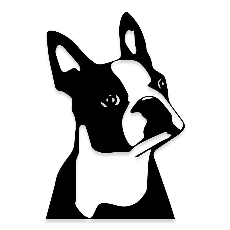 Boston Terrier Dog French Bulldog Decal Sticker