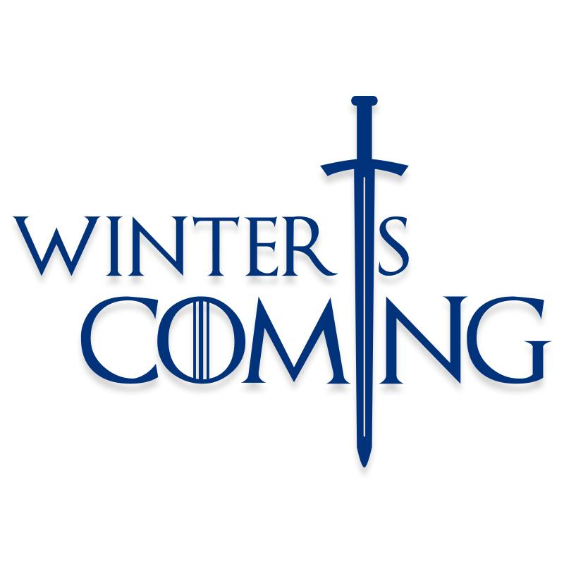 Winter is Coming Game of Thrones Decal