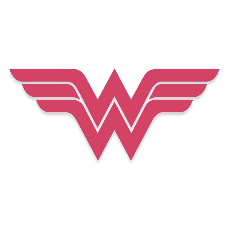 Wonder Women Logo Vinyl Decal