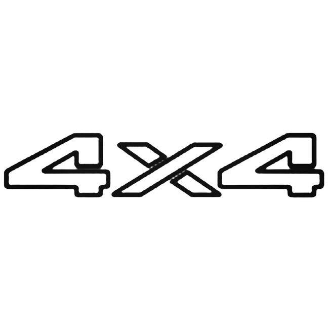 4x4 Off Road 29 Decal Sticker