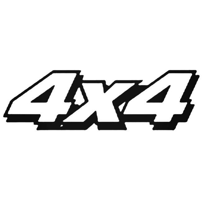 4x4 Off Road 4 Decal Sticker