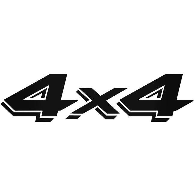 4x4 Vinyl Decal Sticker 1
