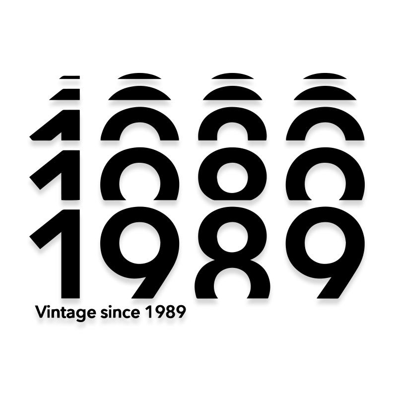 1989 Birthdate Vinyl Decal
