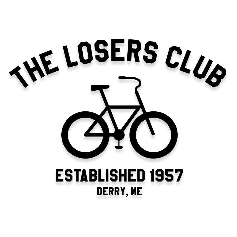 The Losers Club It Movie Vinyl Decal