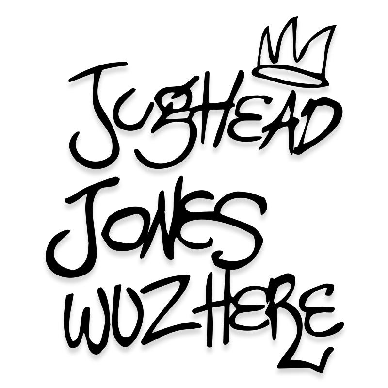 Jughead Jones Riverdale Vinyl Decal