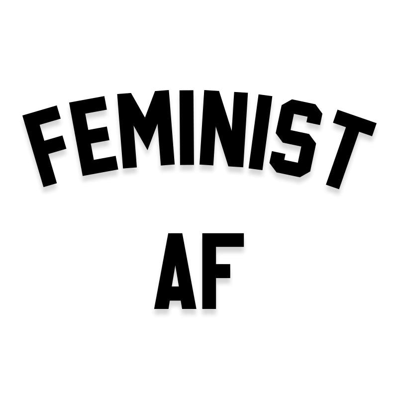 Feminist AF Decal Sticker