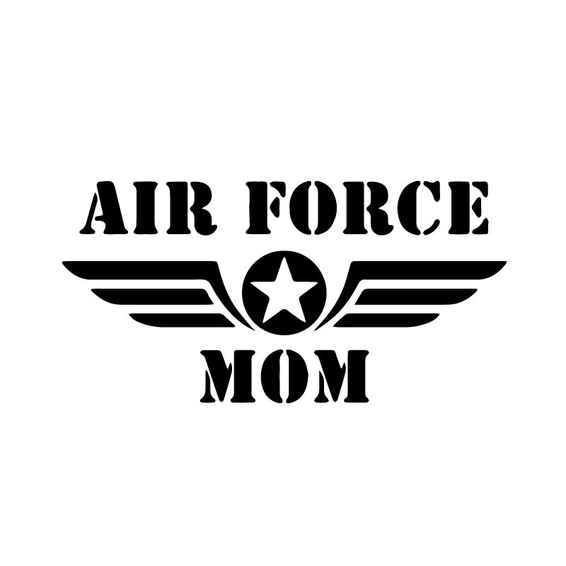 US Air Force Mom Symbol Decal Sticker
