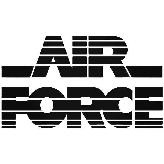 Air Force Military Decal Sticker