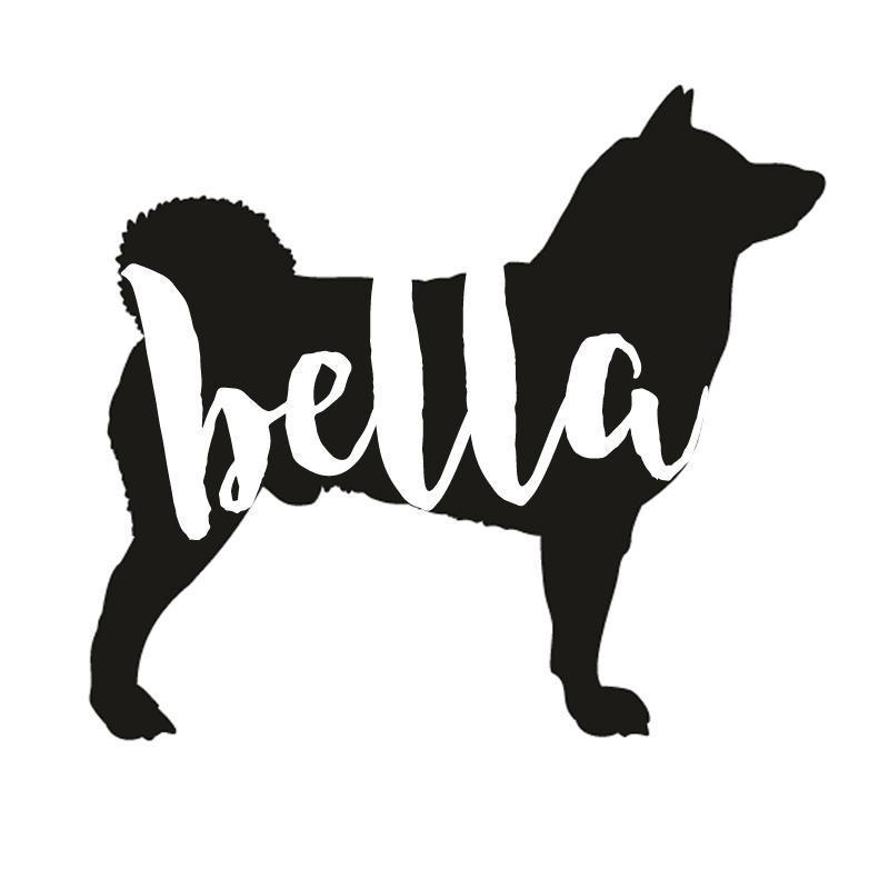 Akita Decal Sticker for Car Windows