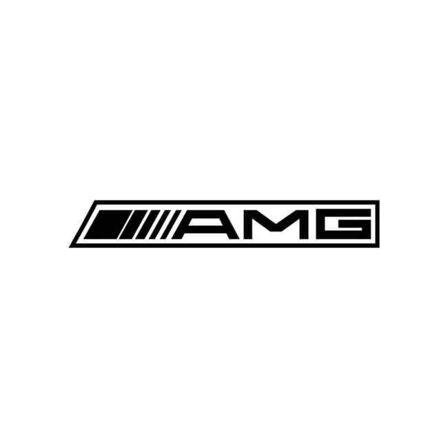 Amg Reverse Decal Sticker