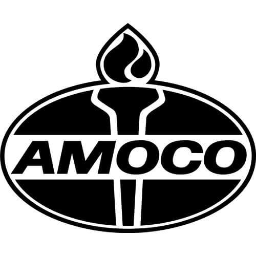Amoco Logo Decal Sticker
