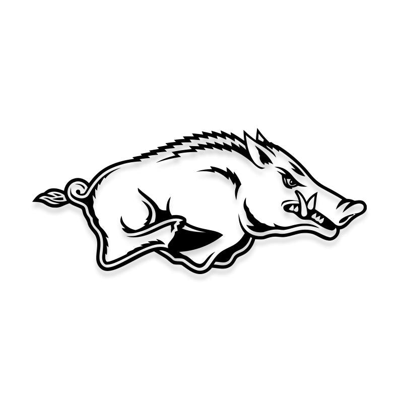 Arkansas Razorbacks Football Decal Sticker
