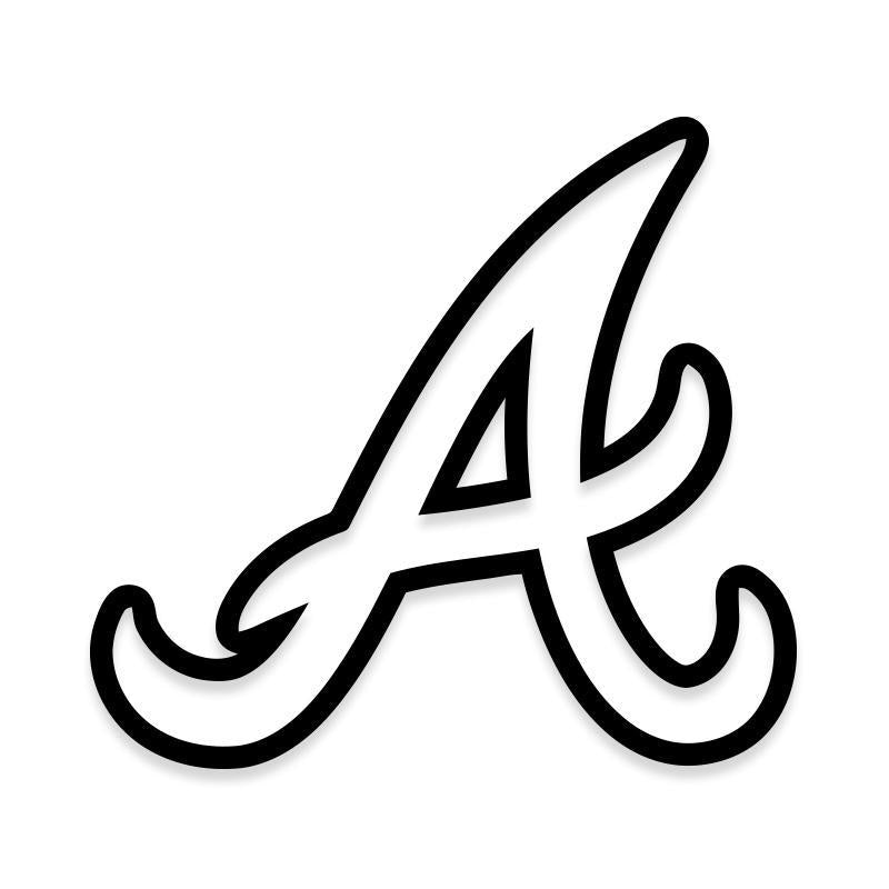ATL Braves MLB Decal Sticker