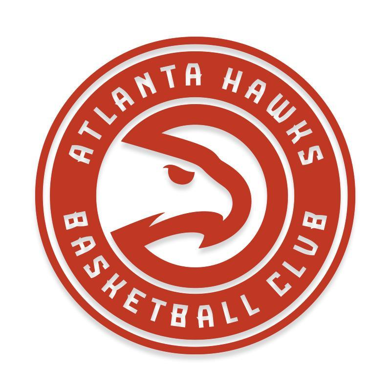 Atlanta Hawks NBA Official Decal Sticker