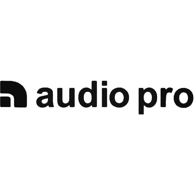 Audio Pro Logo Decal Sticker