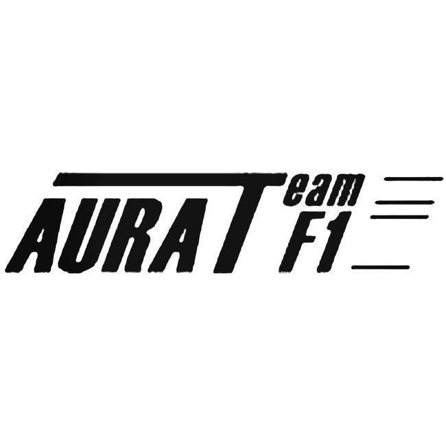 Aura Team F1 Decal Sticker