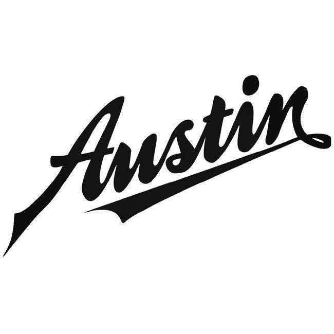 Austin Logo Decal Sticker